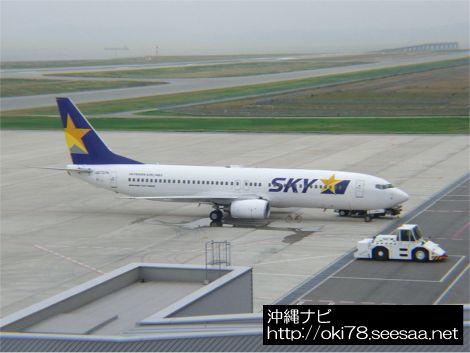 スカイマーク機駐機中(200806神戸空港 B737-800).jpg